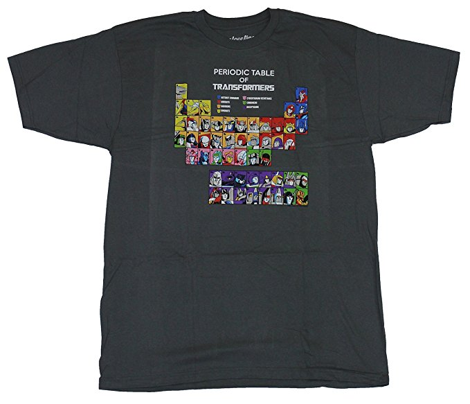 Transformers Periodic Table T-Shirt