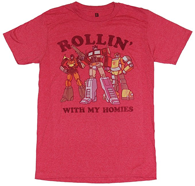 Transformers Rollin With my Homies T-Shirt