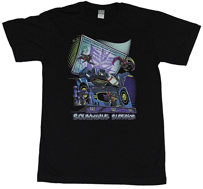 Transformers Soundwave Superior T-Shirt