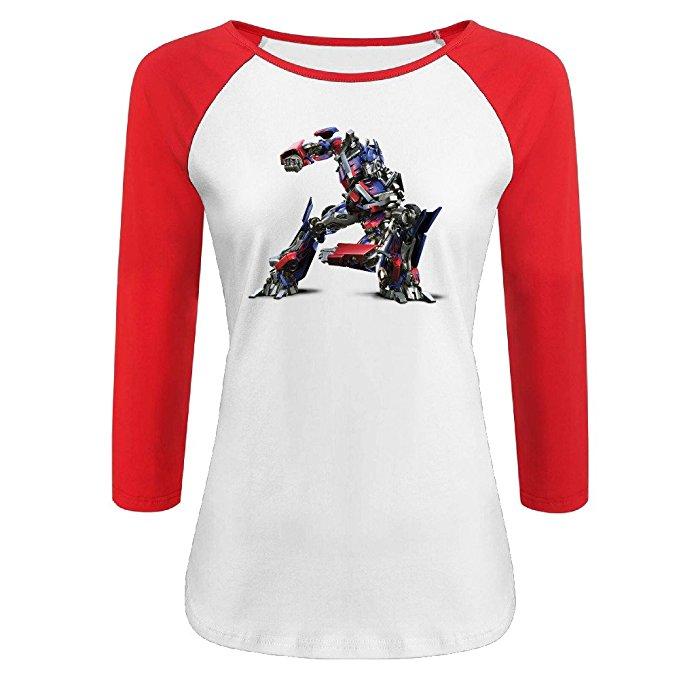Transformers Women's Baseball Shirt