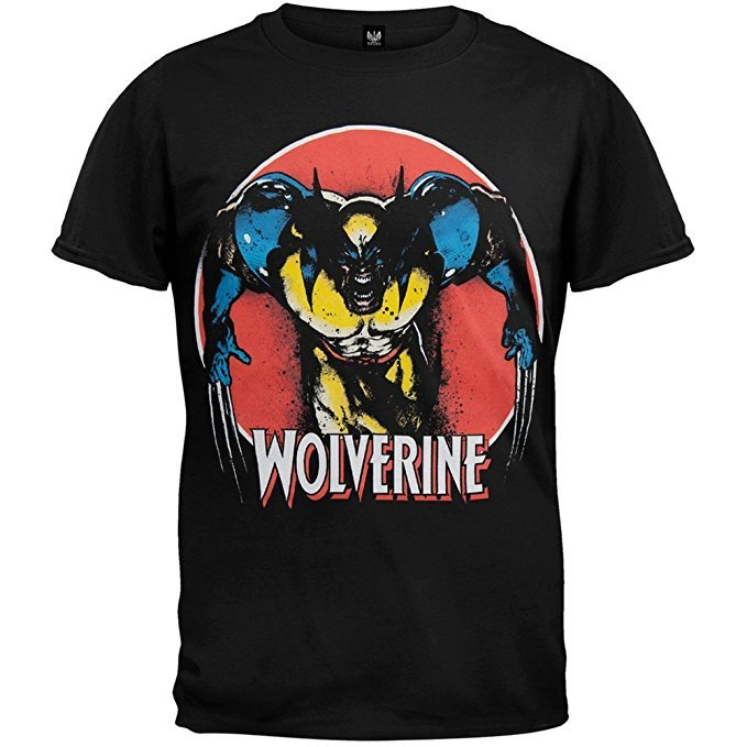 Wolverine Angry Classic T-Shirt