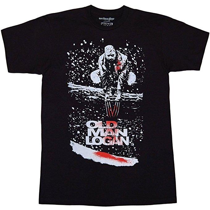 Wolverine Old Man Logan Blood T-Shirt