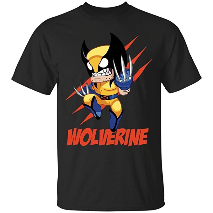 Wolverine Small & Angry T-Shirt