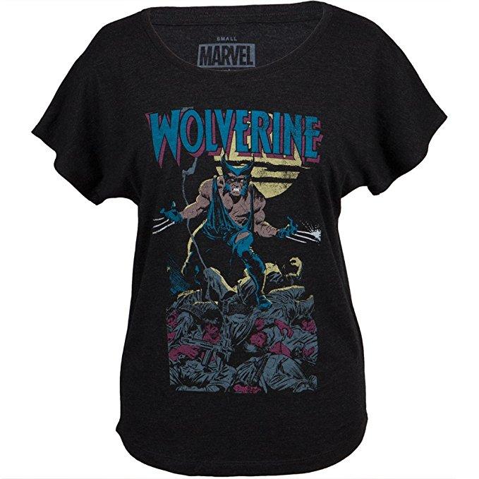 Wolverine Vintage Comics Style T-Shirt