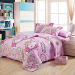 Warm Embrace 100% Cotton Hello Kitty Bedding Set