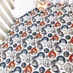 Star Wars crib sheet