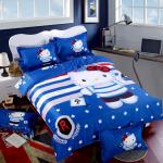 Blue Hello Kitty Bed Sheets