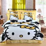 Cow pattern HELLO KITTY Duvet cover