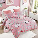 Belles Maison 100% cotton Hello Kitty Bed Sheets