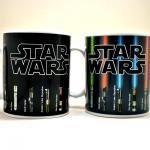 Star Wars Lightsaber Mug, The Force Awakens With Heat (12 oz)