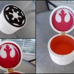 "Star Wars inspired Emperial / ""Rebel Spy"" trinket / jewelry box"