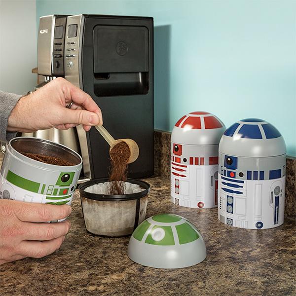 2017 Best Organizers Star Wars Droid Kitchen Container Set