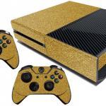 Xbox One Skin Gold Flake