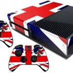 Xbox One Skin Great Britain British Flag