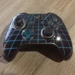 Xbox one retro grid controller skin wrap Custom decal sticker