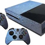 Xbox One Skin Frosted Frozen