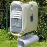 Apple-inspired Mailbox