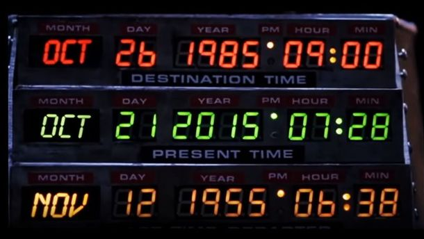 Back to the Future 2 Times