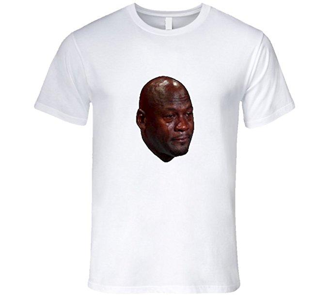 Crying Jordan Meme T-Shirt