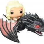 Funko POP Rides- Game of Thrones – Dragon & Daenerys Action Figure