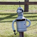 Futurama Bender Mailbox