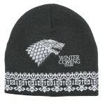 Game of Thrones Stark Beanie Black