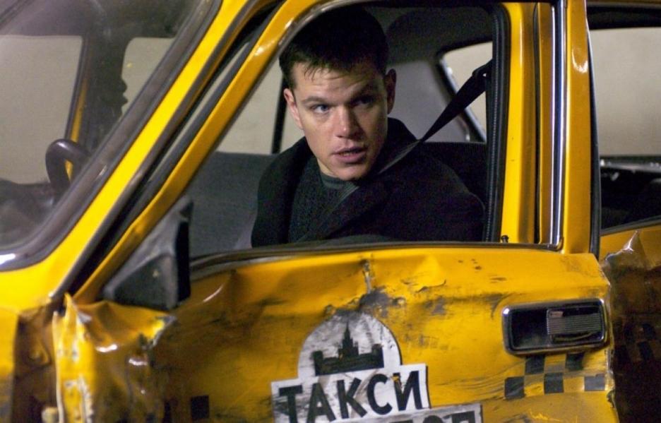 Jason Bourne Russian Taxi
