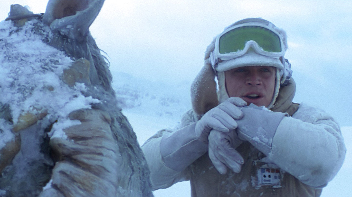 Luke on Hoth