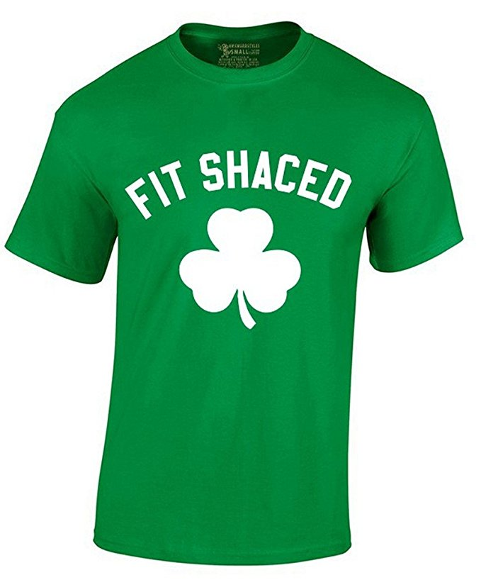 St. Patrick's Day Fit Shaced T-Shirt