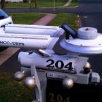 Solar-Powered Star Trek Mailbox