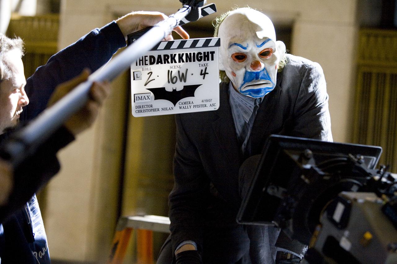 The Dark Knight behind the scenes