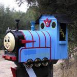 Thomas the Tank Engine mailbox