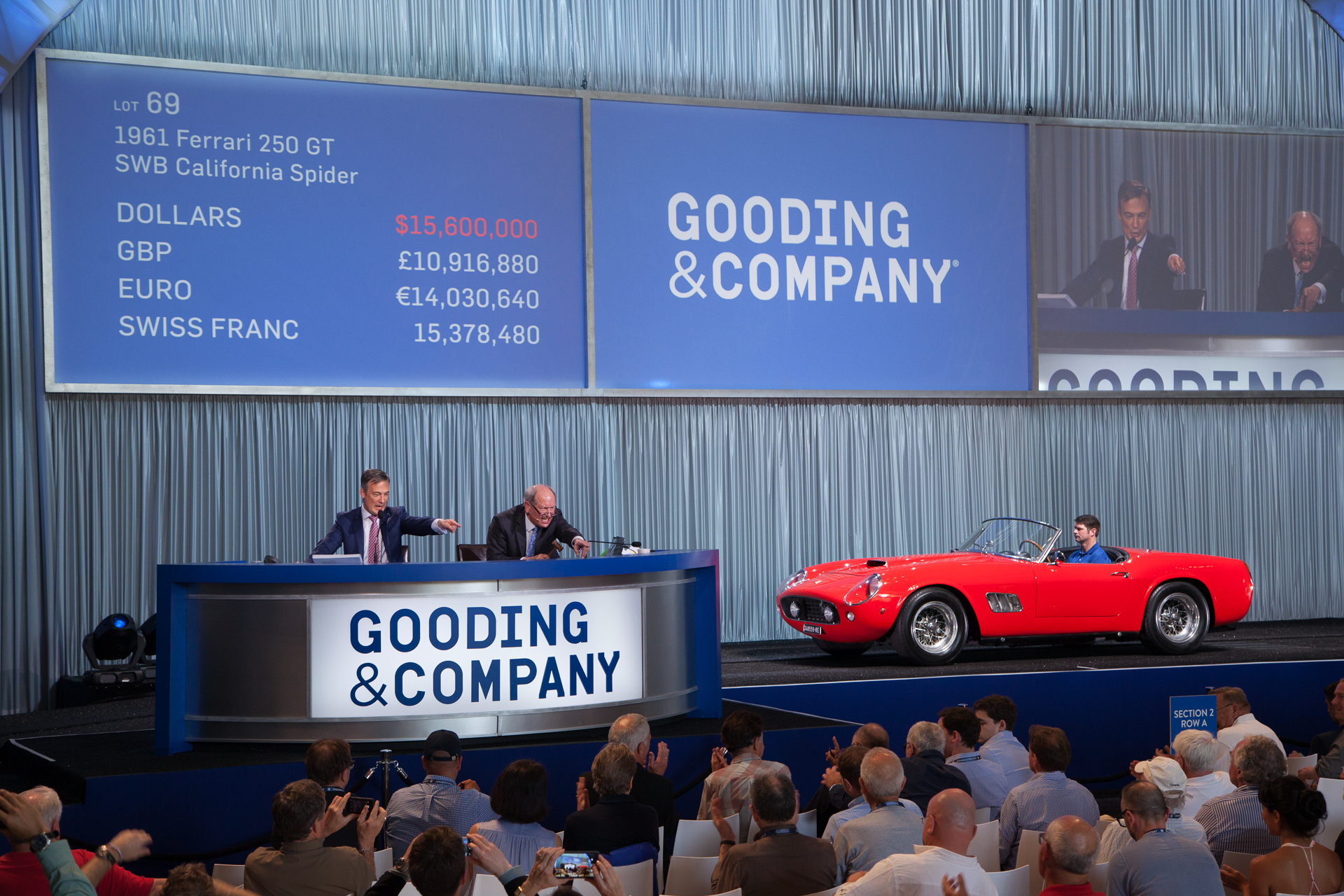 1961 Ferrari 250 GT SWB California Spider 2871 GT