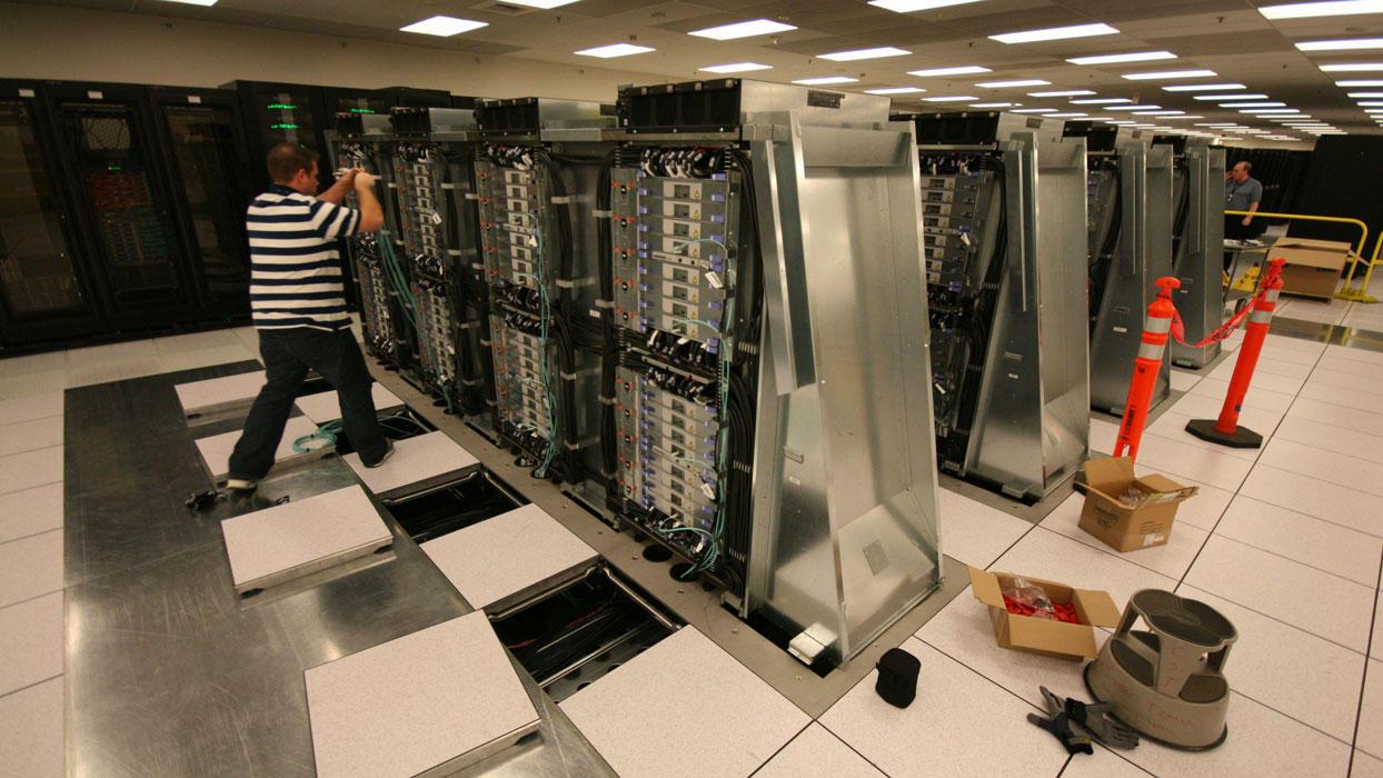 Installing Sequoia Supercomputer