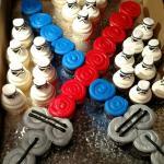 Stormtroopers x Lightsaber Cake