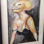 alien nightgown painting