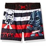toddler darth vader and stormtrooper star wars swim trunks
