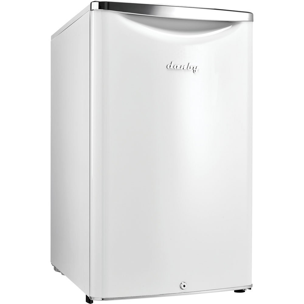 Danby DAR044A6PDB 4.4 cu.ft. Contemporary Classic Compact All Refrigerator, Pearl Metallic White