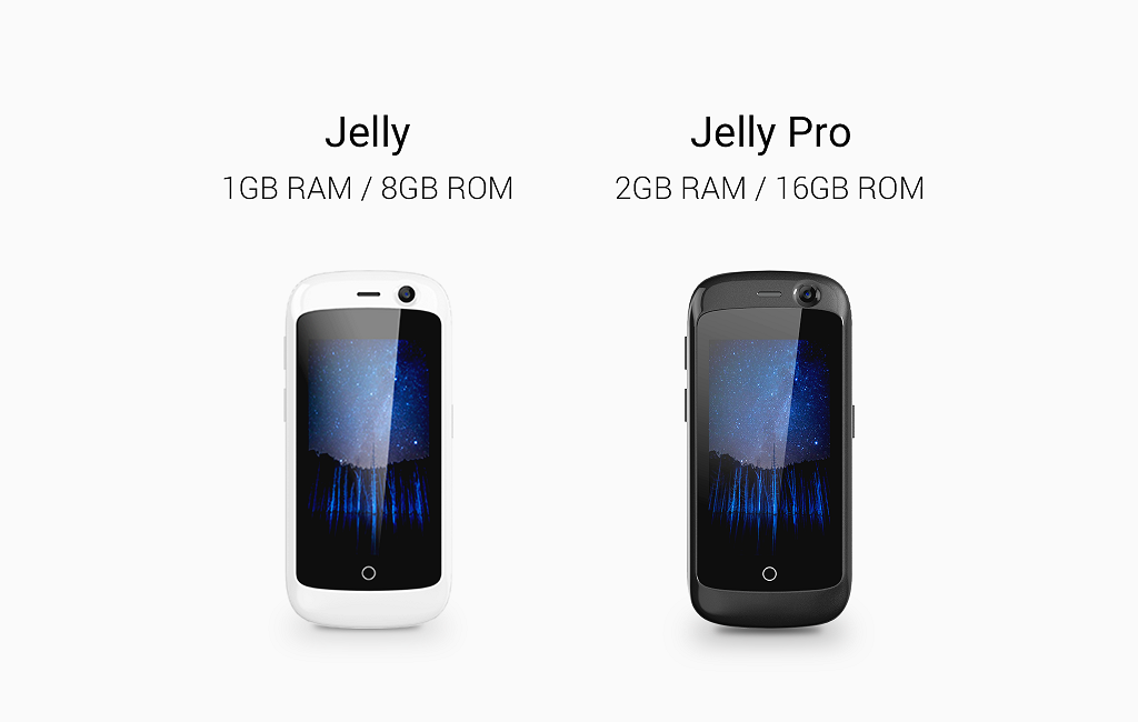 Jelly - World's Smallest 4G Smartphone