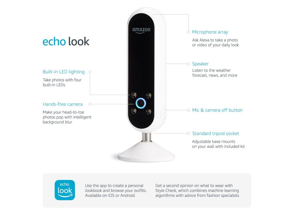 Amazon Echo Look Style Assistant