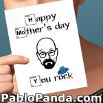 Breaking Bad Mothers Day Card