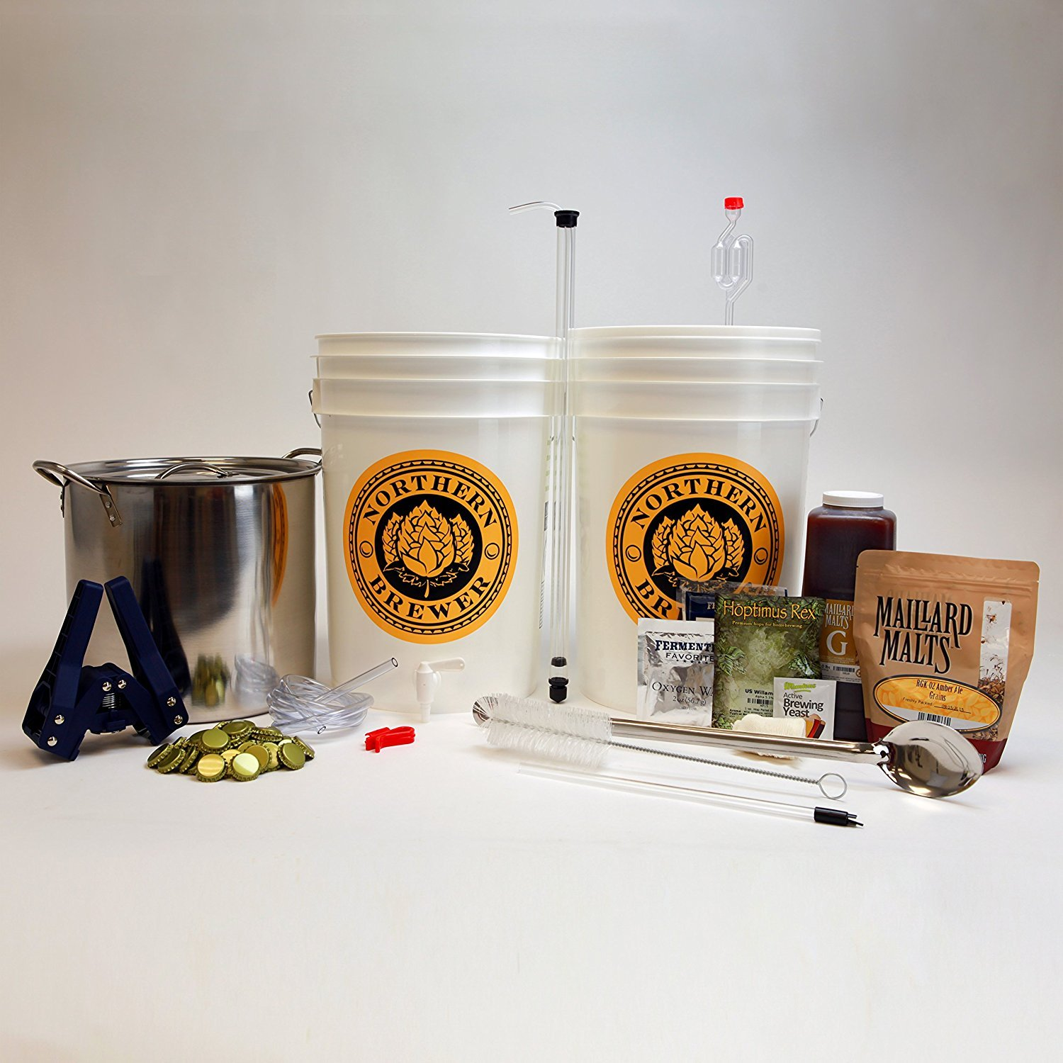 Homebrew Beer Brewing Starter Kit by Brewery in a Box