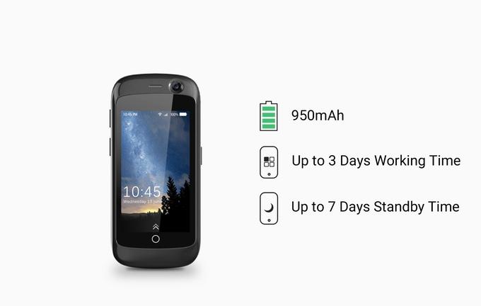 Unihertz Jelly - World's Smallest 4G Smartphone