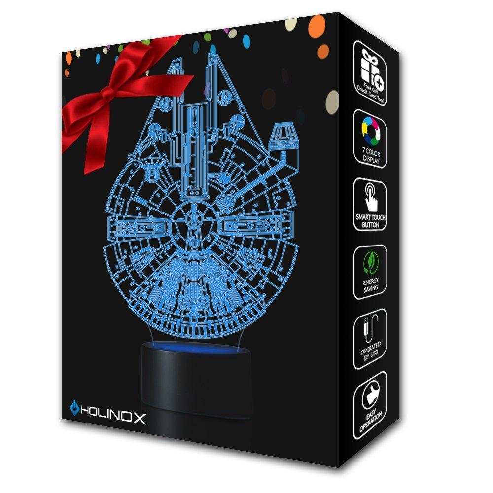 Millennium Falcon Star Wars Lighting Gadget Lamp Decor