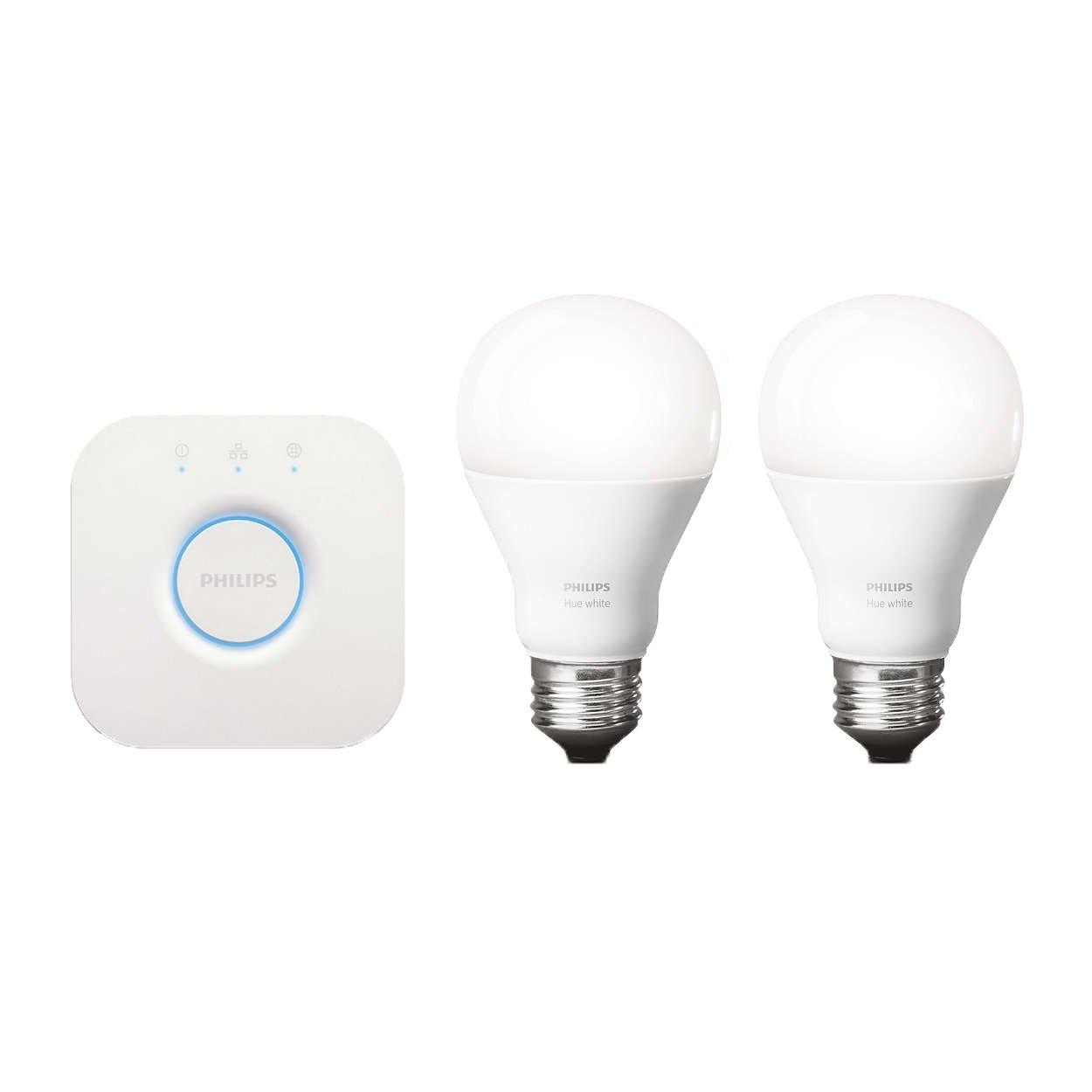 Phillips Hue white LED starter kit