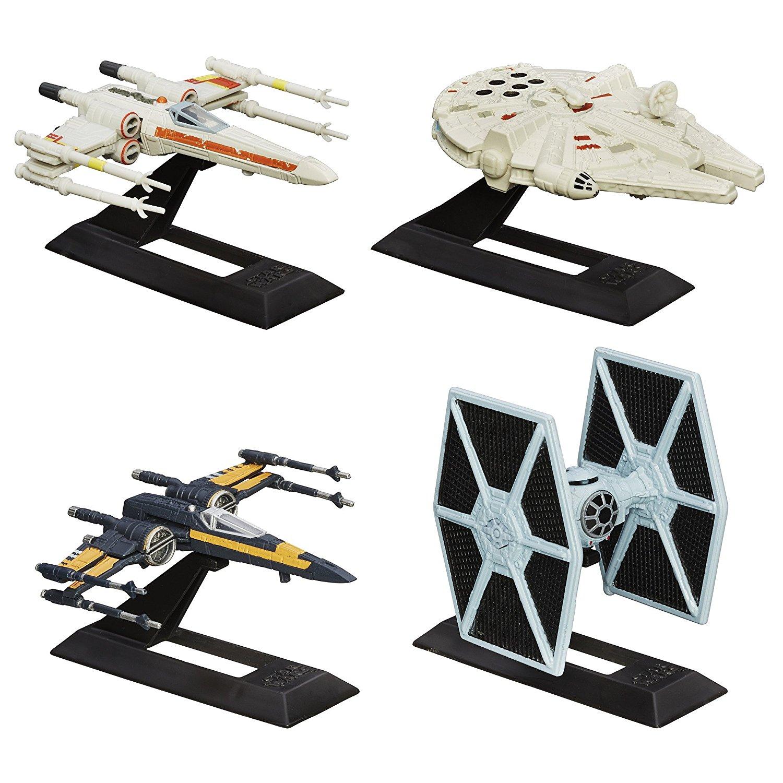 Star Wars Force Awakens Titanium Series Vehicles Pack