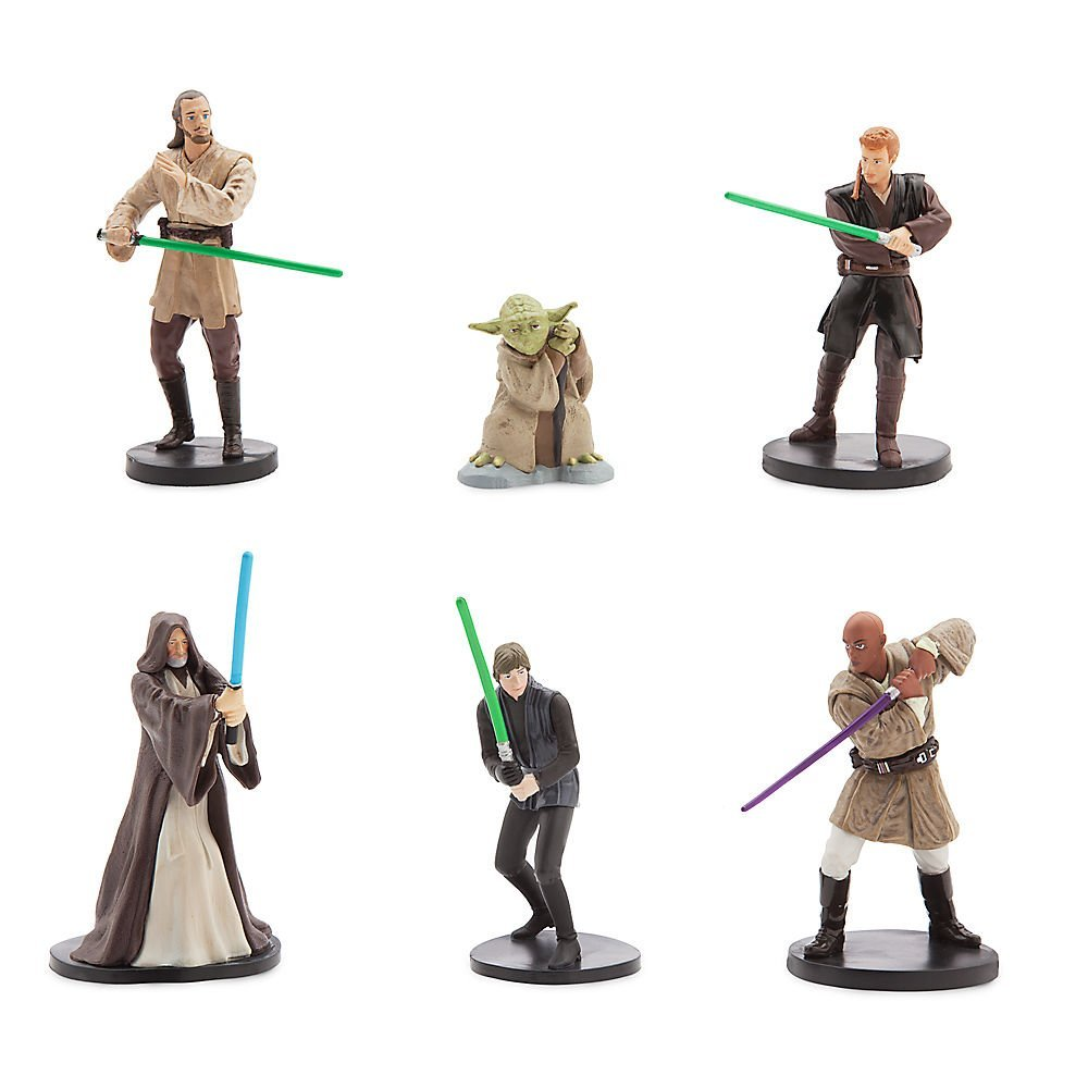 Star Wars Jedi Figurine Set