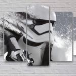 Storm Trooper 5-Panel Canvas