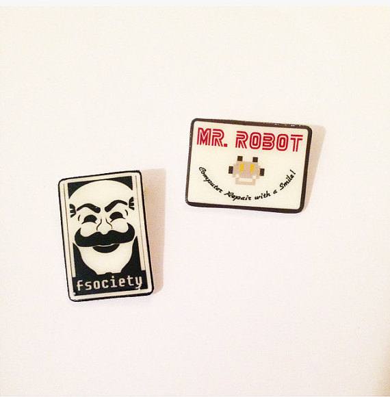 Mr. Robot pins