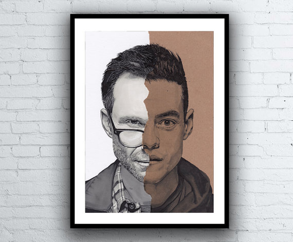 Mr. Robot Portrait